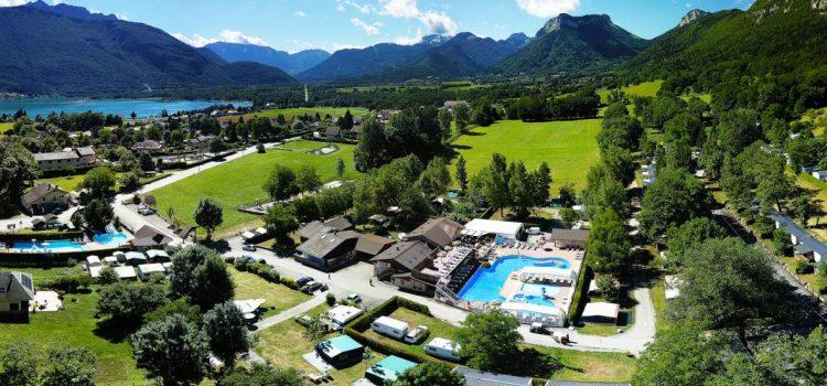 Quels sont les meilleures locations d'hébergement au camping Les Rives du Lac ?