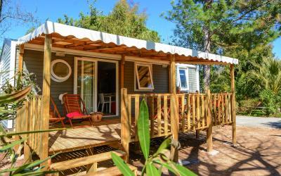 Découvrez les maisons mobiles de prestige au camping Les Pêcheurs
